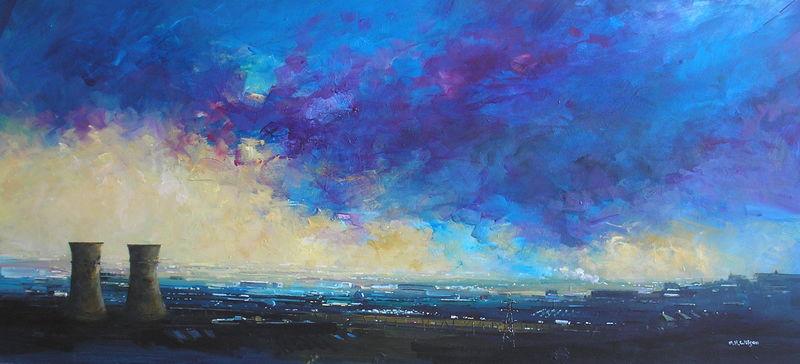 Storm Sky Light, Tinsley Towers