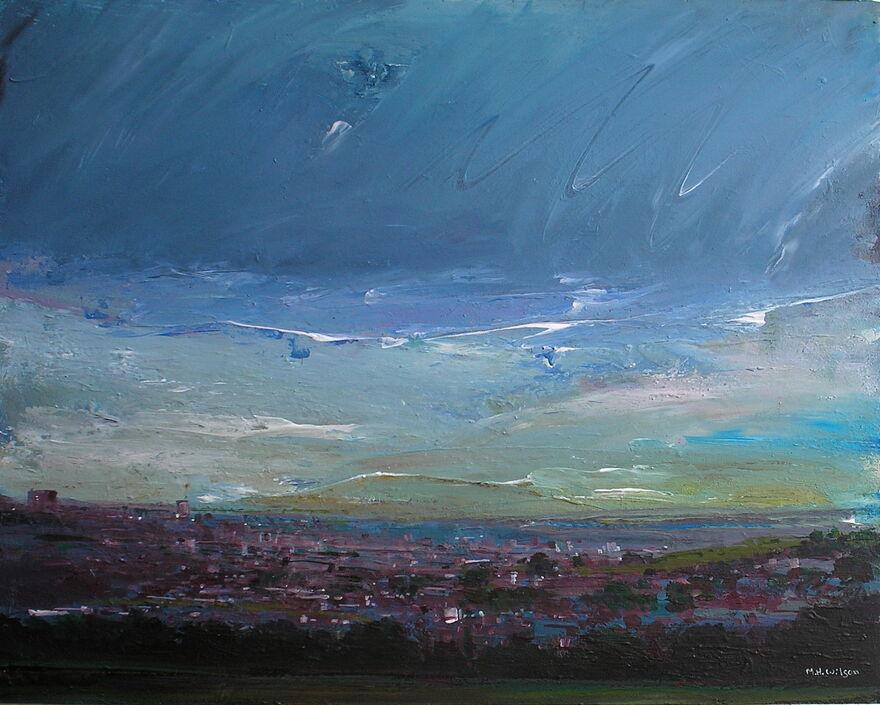 Storm Sky over the City [Dawn]
