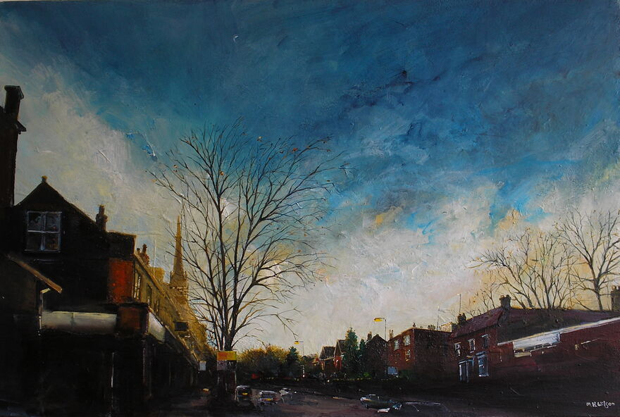 Evening Sunlight, Ecclesall Road