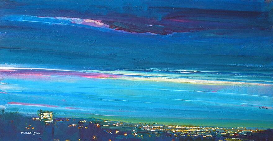 Night Sky {City Lights]1