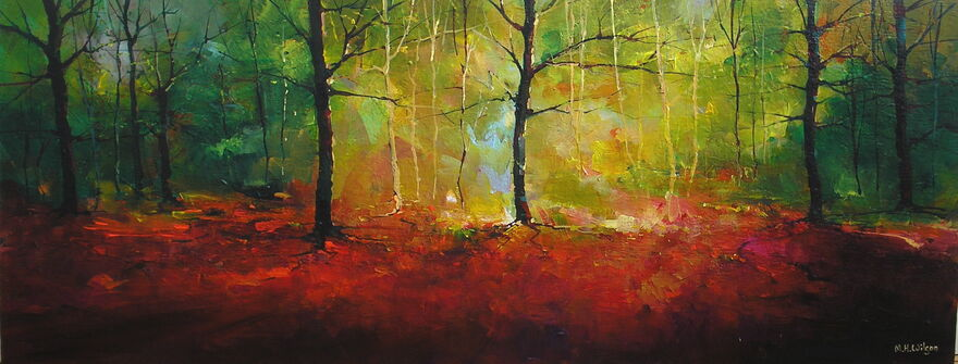 Autumn Vista, Ecclesall Woods