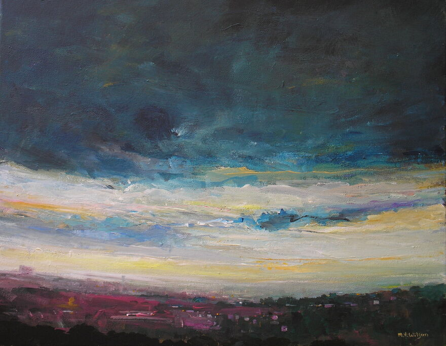 Dawn Storm Sky over Sheffield