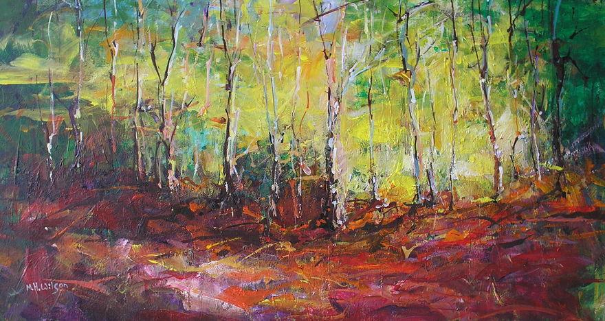 Autumn Trees, Ecclesall Woods