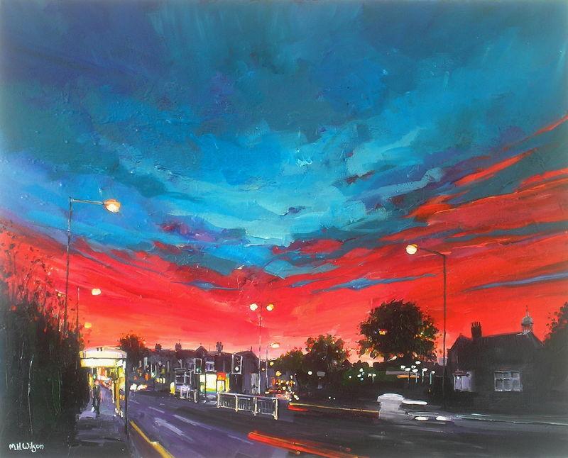 Jimmy's Plaice, Ecclesall Road Sunset