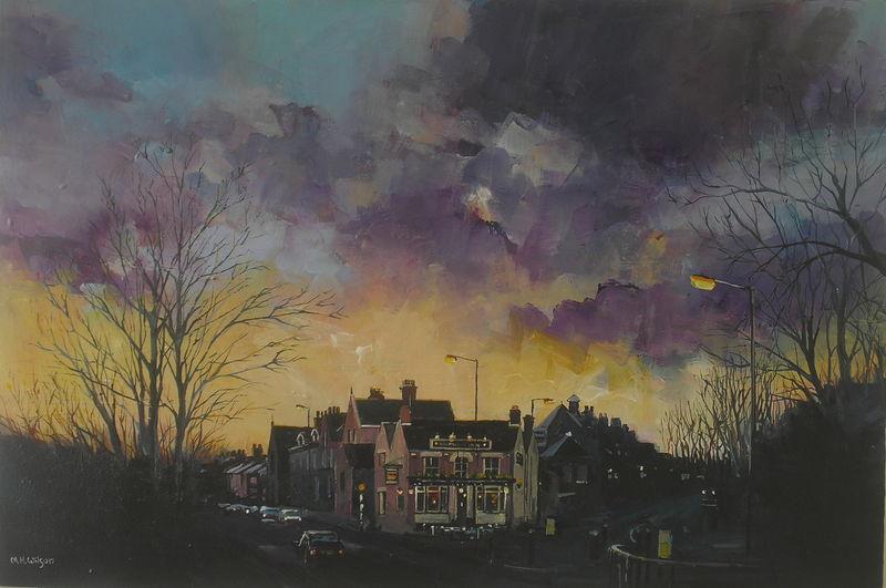 Storm Sky, Ranmoor Inn