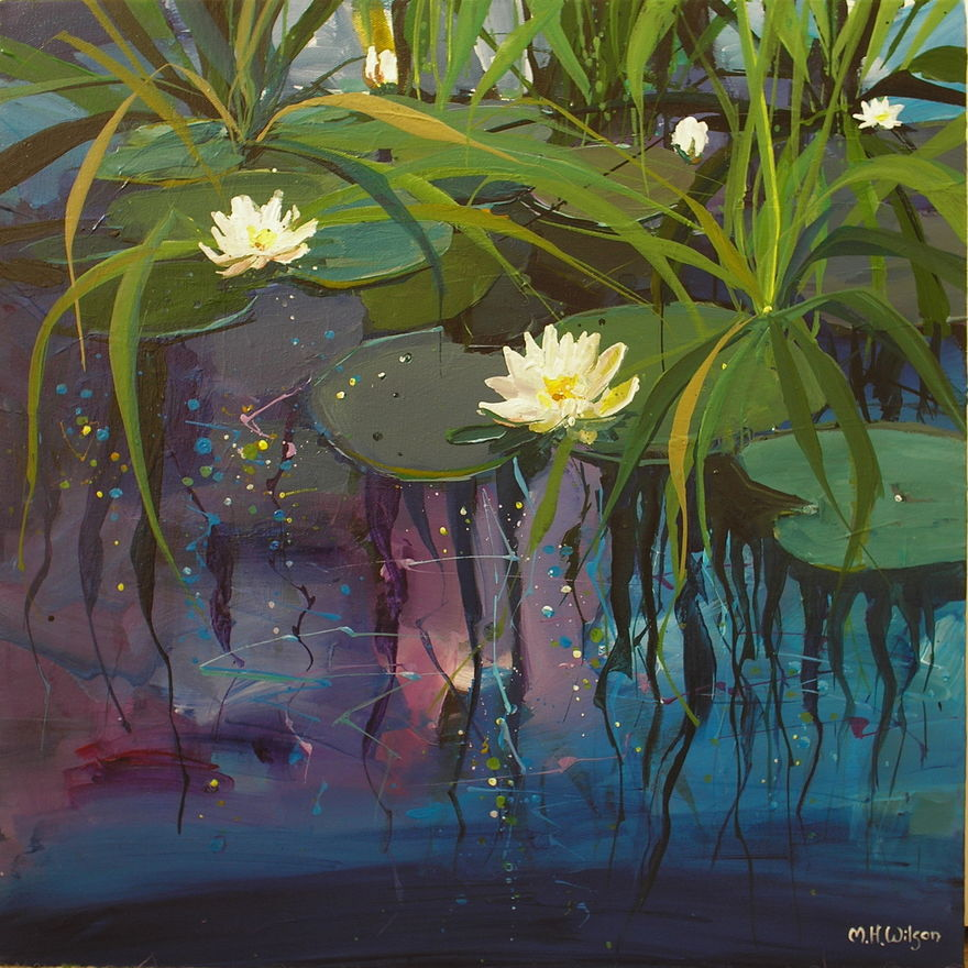 Lily Pond Reflections 1