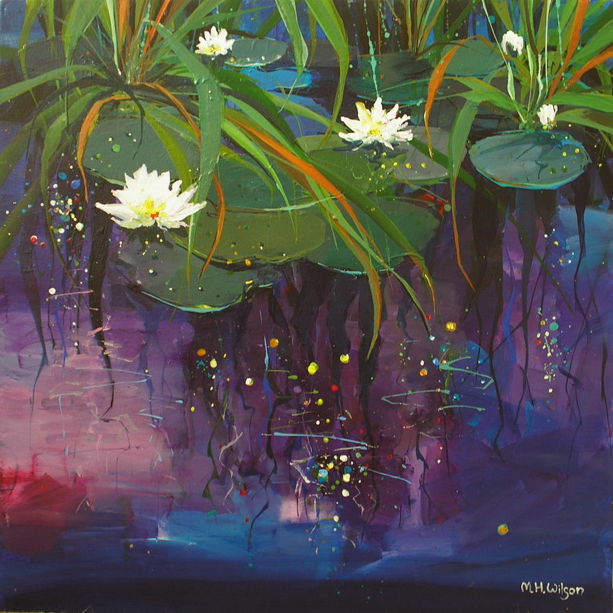 Lily Pond Reflections 2