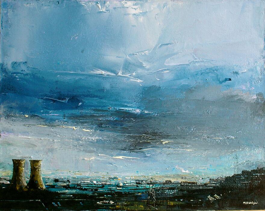 Tinsley Towers [Evening Storm Sky]