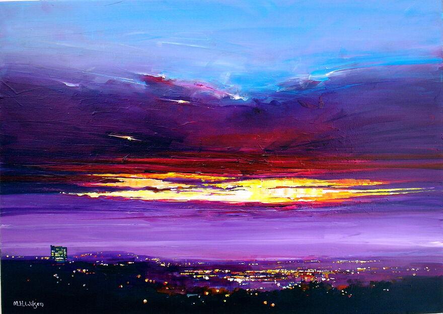 Dawn Crack City Lights