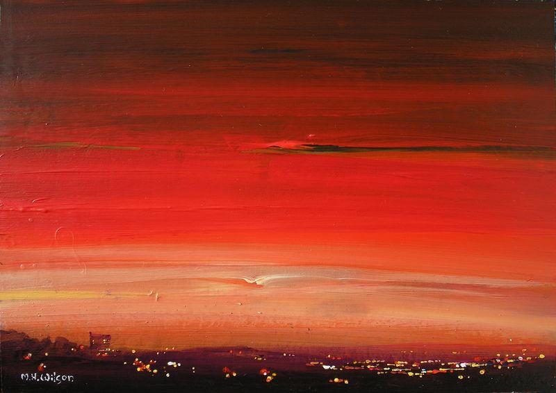 Red Sunset City 1