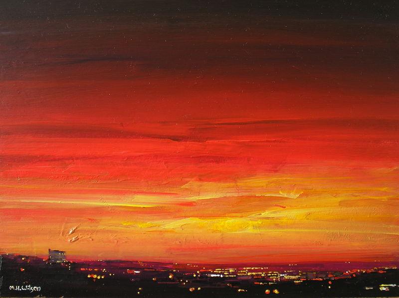 Red Sunset City 2