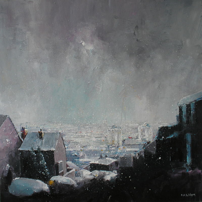 City Under Snow (Blake Street)