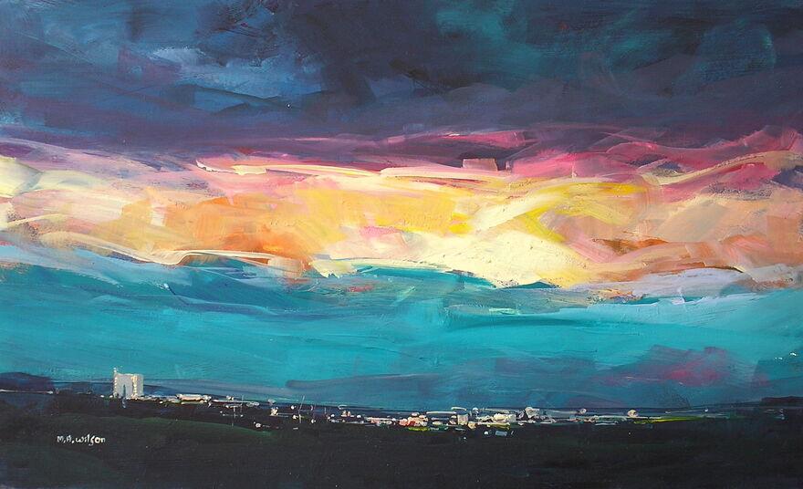 Evening Sky [Last Sunlight] 5