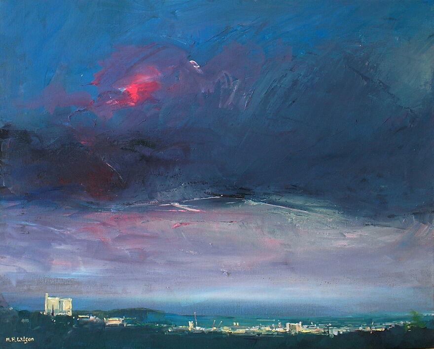 Cityscape 1 [Evening Storm Light]