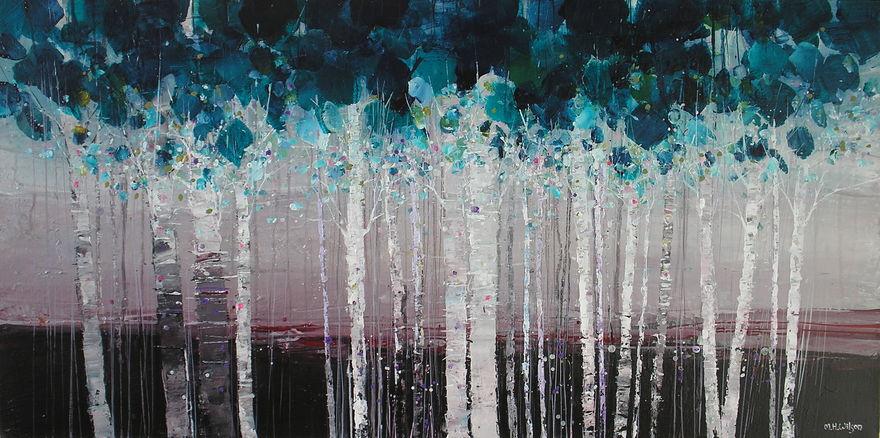 22 Birches