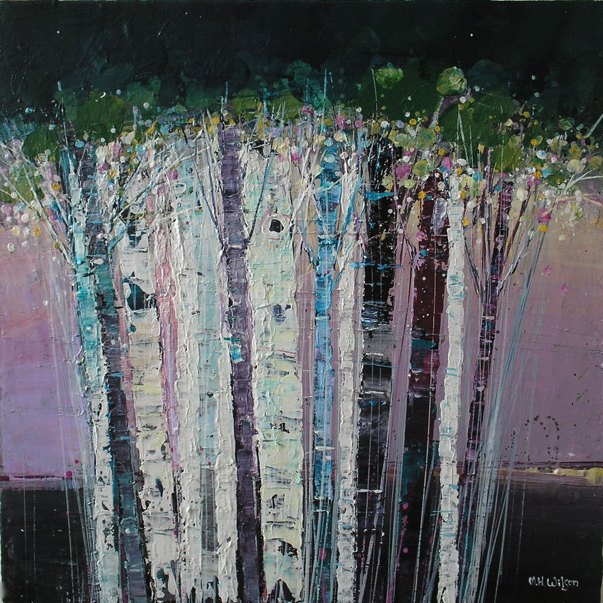 Cluster Of Birches
