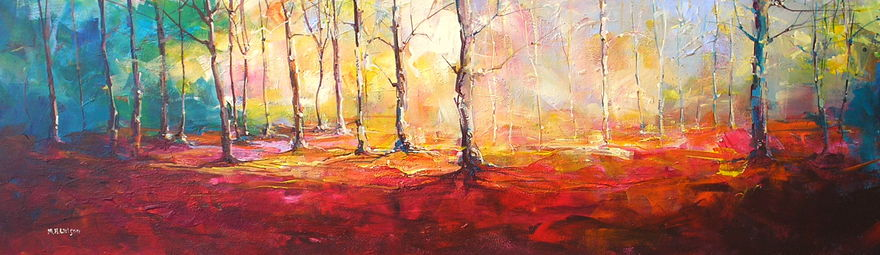 Autumn Woodland (Morning) 1