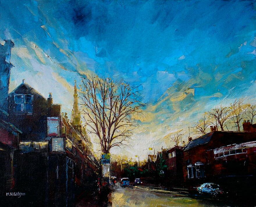 Evening Sunlight, Ecclesall Road