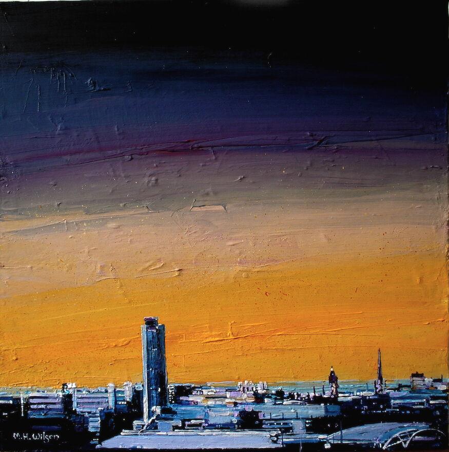Golden City Dawn