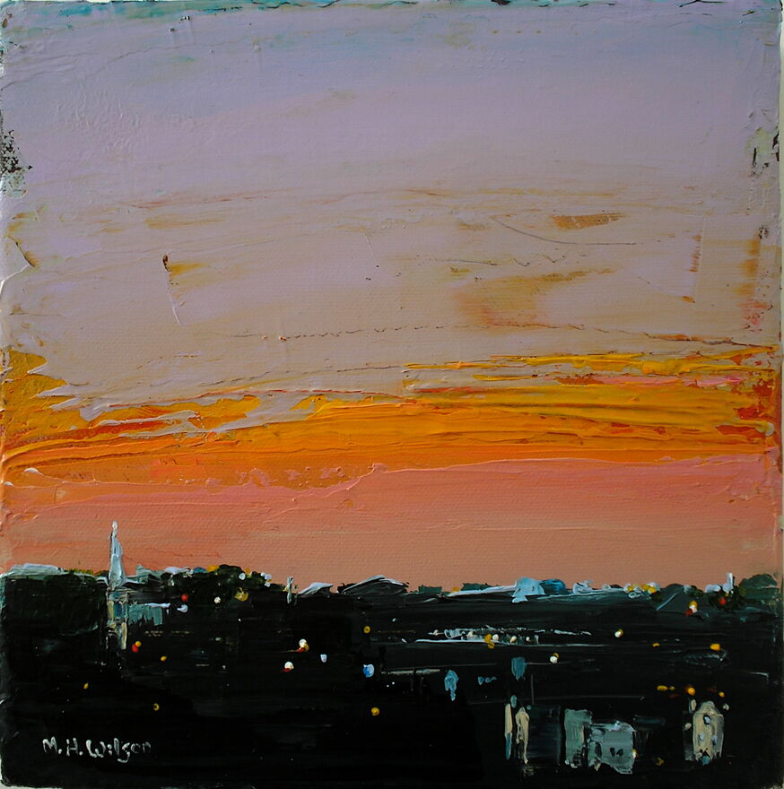 Skyscape, Ranmoor Sunset 1
