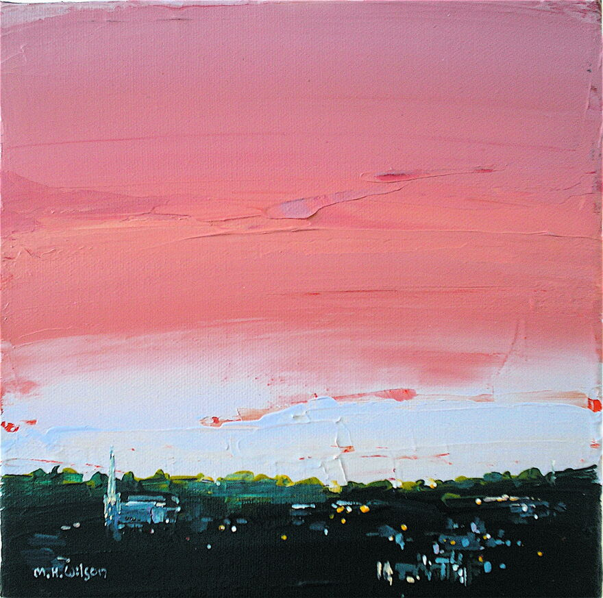 Skyscape, Ranmoor Sunset 4