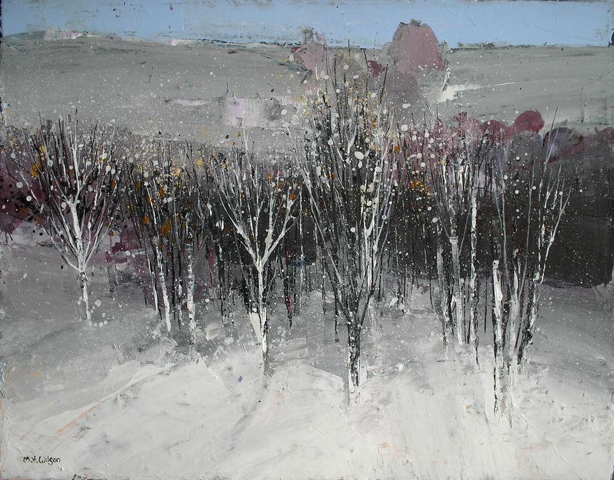 Through the Snow into the Valley
