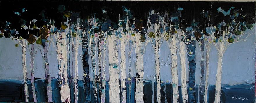 Powder Blue Wood 2