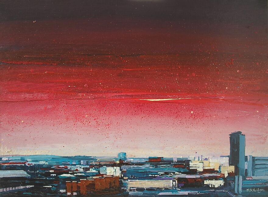 Steel City Sunrise
