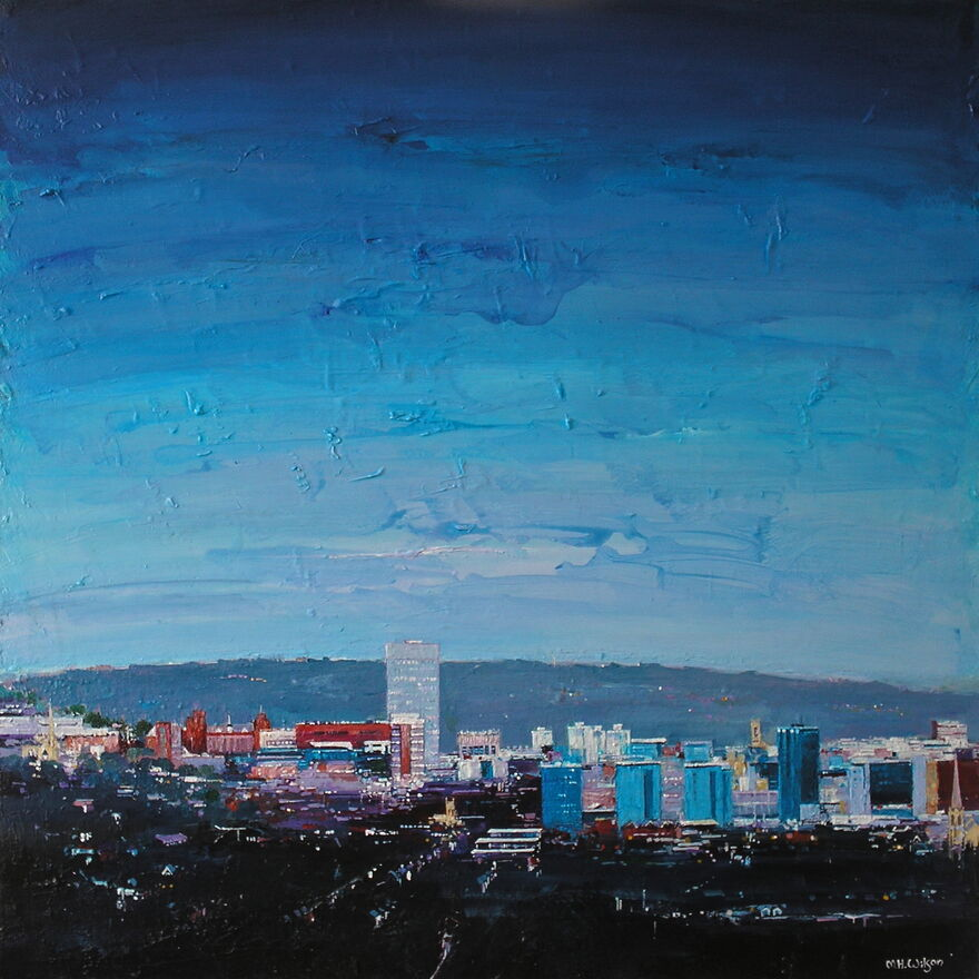 Blue City Morning, Sheffield