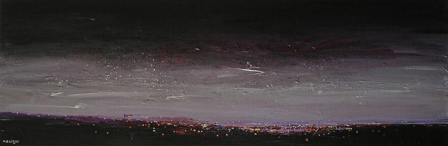 City Lights At Dawn