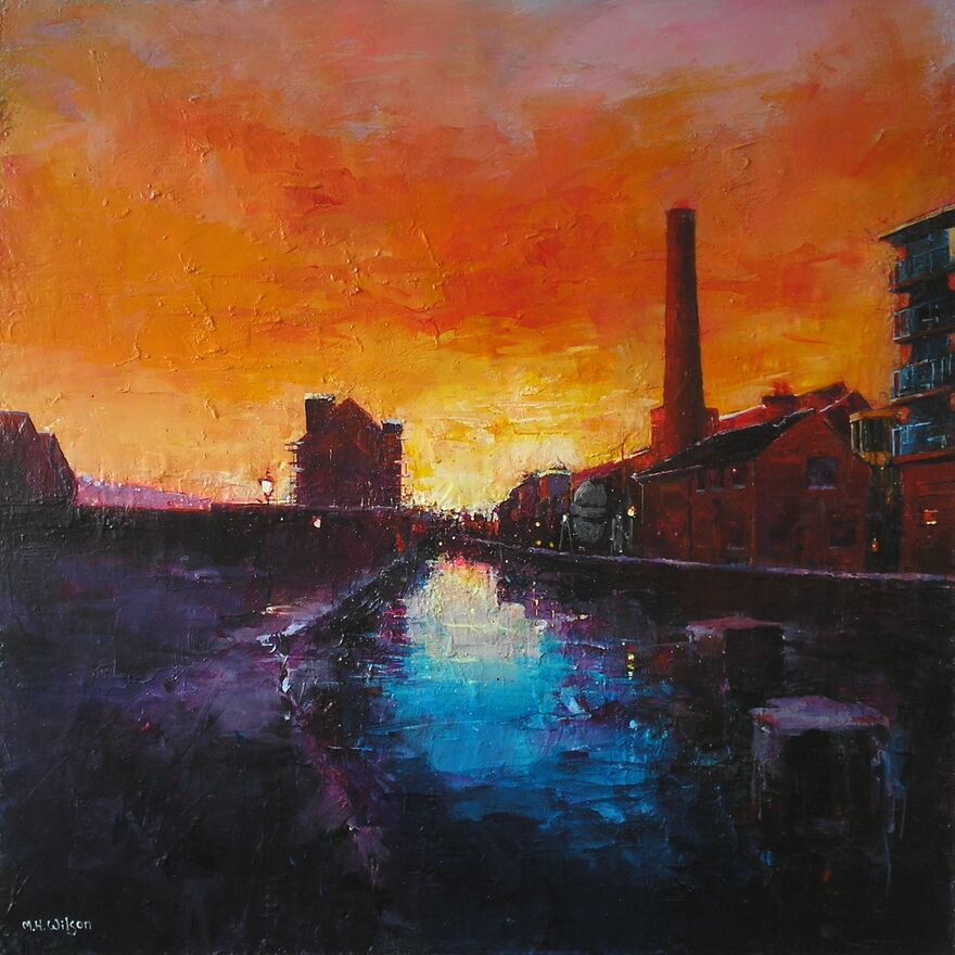 The Chimney House, Kelham Island Sunset