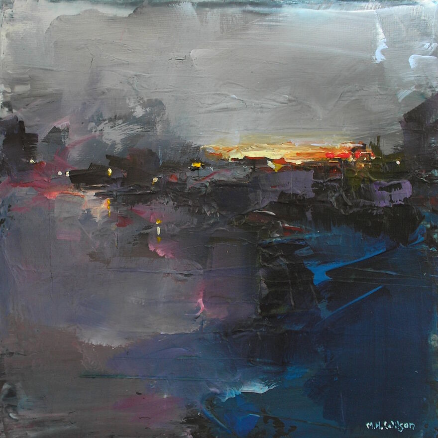 Last Light, River Calder