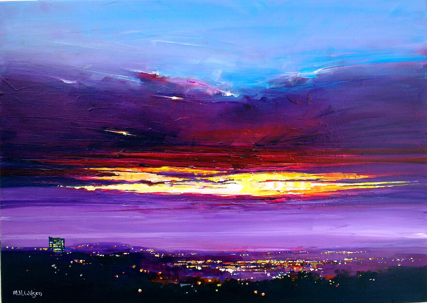 Dawn Crack, City Sunrise