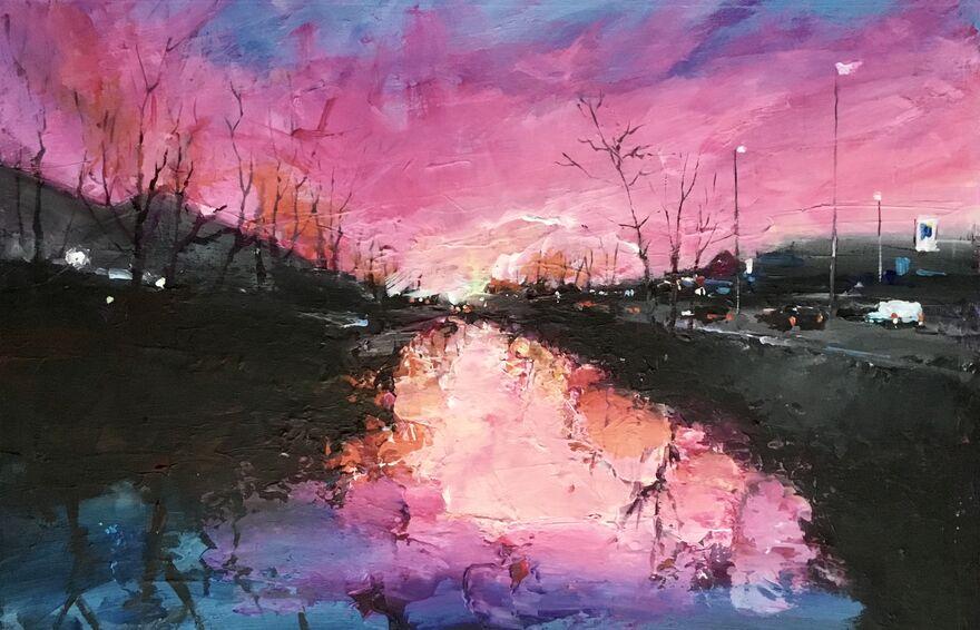 River Don At Dawn