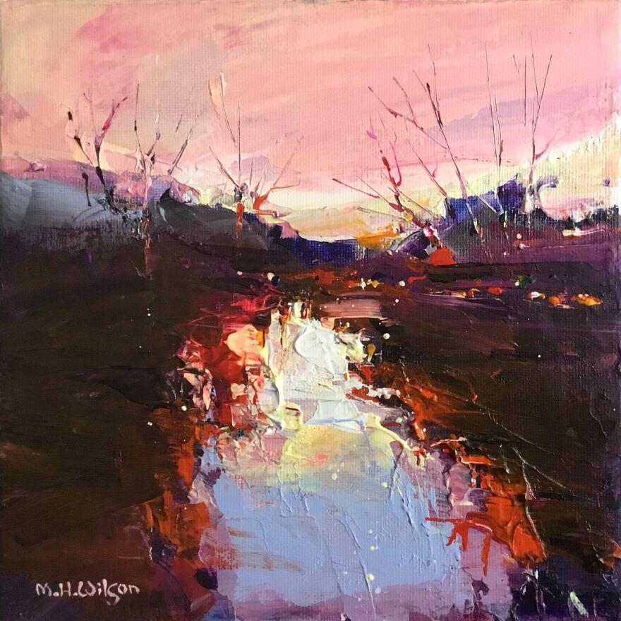 Sunrise, River Don