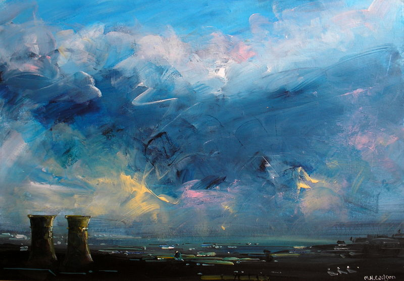 Evening Storm Light (Tinsley Towers)