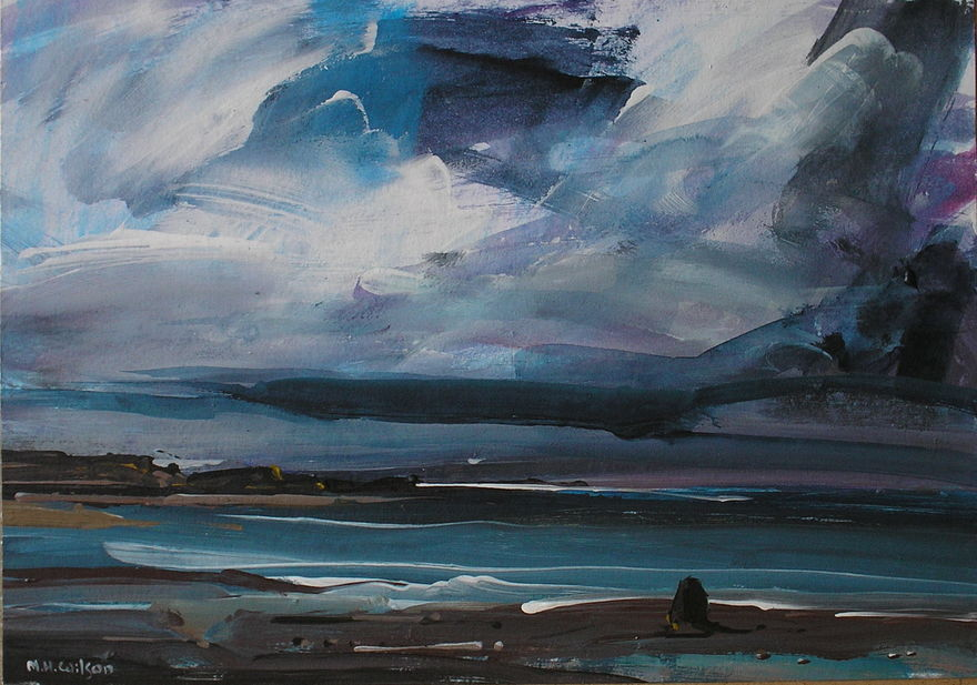 Approaching Storm [Black Nab, Saltwick Bay] 1