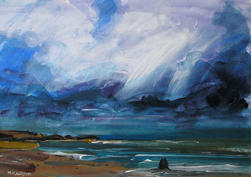 Approaching Storm [Black Nab, Saltwick Bay] 2