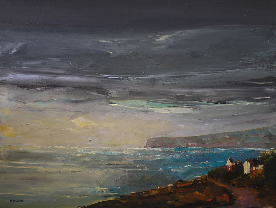 Storm Light, Robin Hoods Bay