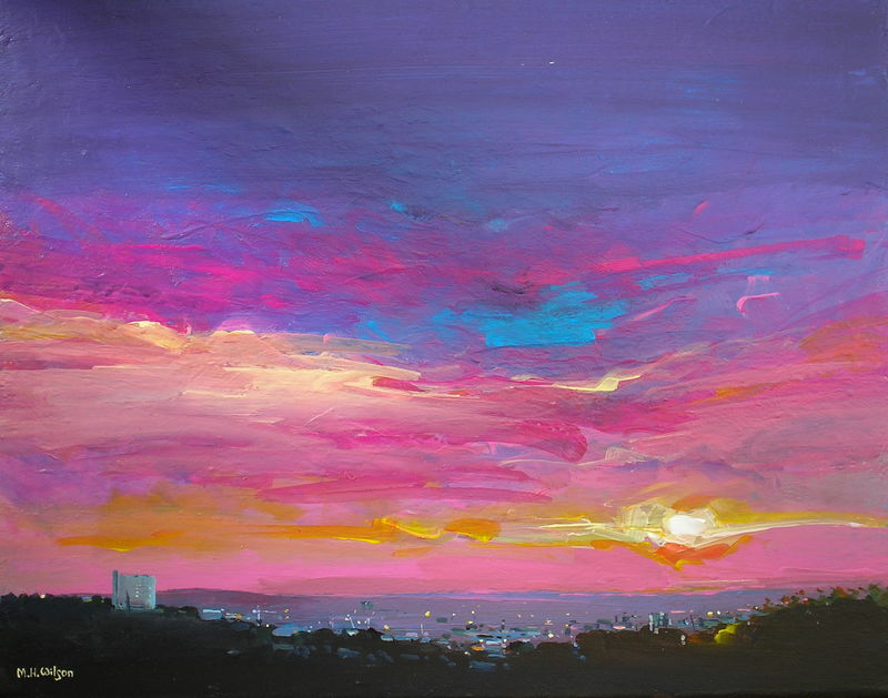 First Light, Sunrise Sheffield