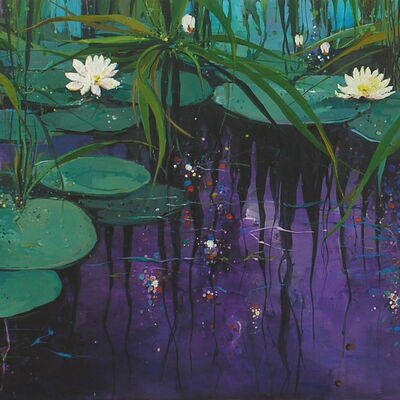Reflections (Water Lilies)