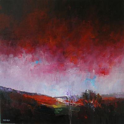 Red Sky Red Edge (Curbar)