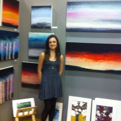 Imogen at Great Sheffield Art Show 2012
