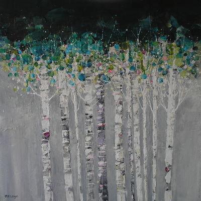 Skinny Birches