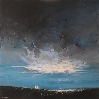 Blue City Storm Light