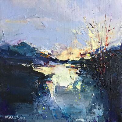 Golden Blue Sunrise, River Don 2