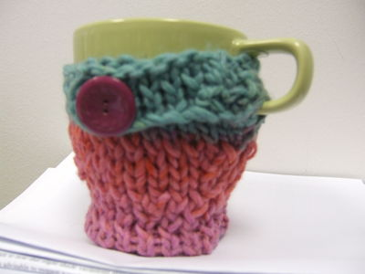 Knitted Cup Cover