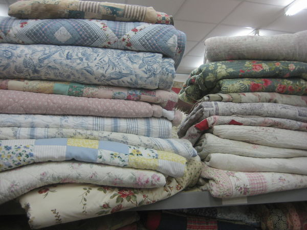 Wide selection of Quilted patchworks