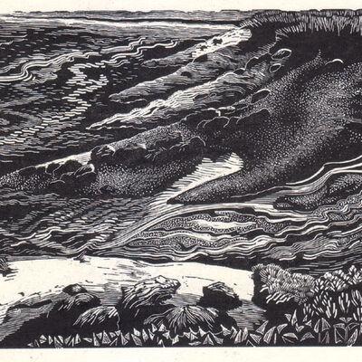 Erosion  by Beverley White