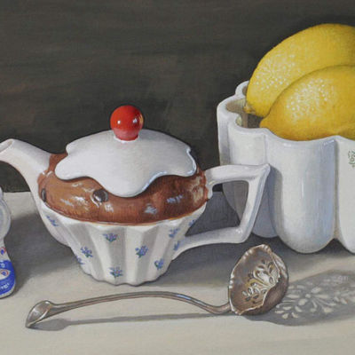 'Sugar spoon and Lemons'  - Dawn Gabrielle Chandler